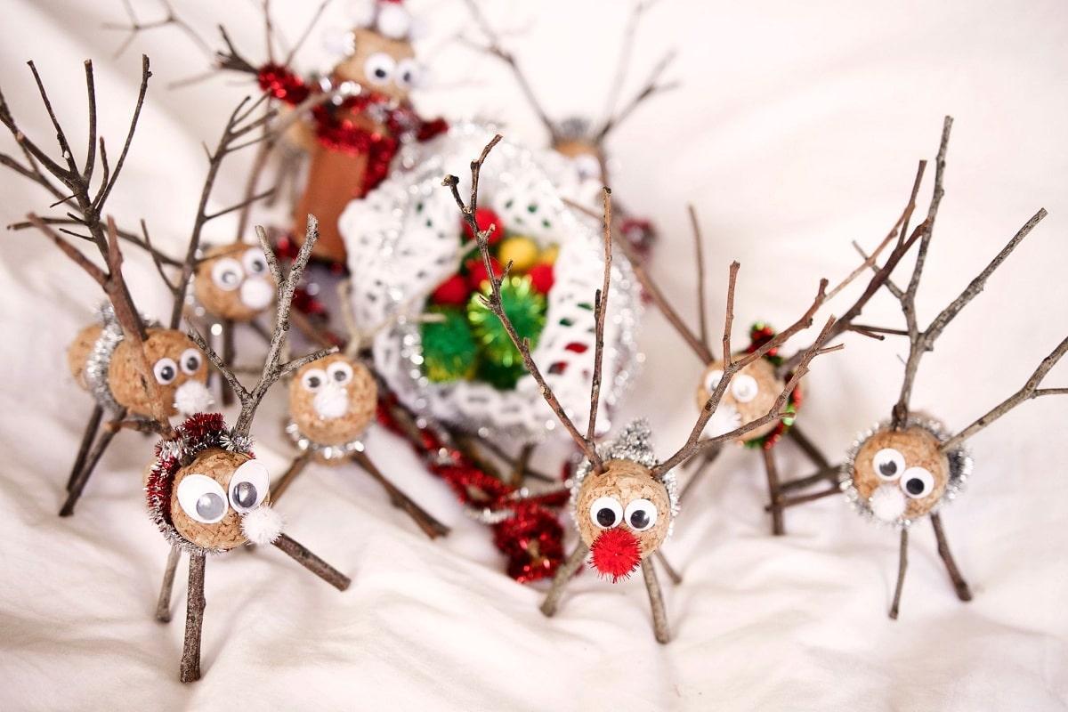 adornos navideños reciclados faciles