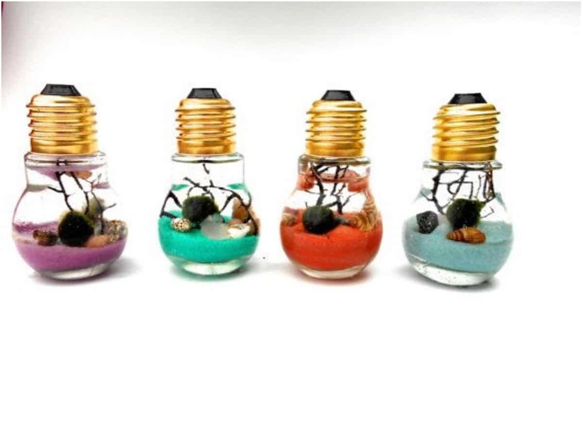 decoracion con bombillas
