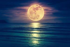 luna y mareas