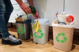 como reciclar en casa separando basura