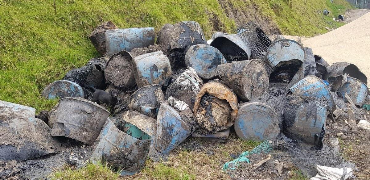 manejo inadecuado de residuos