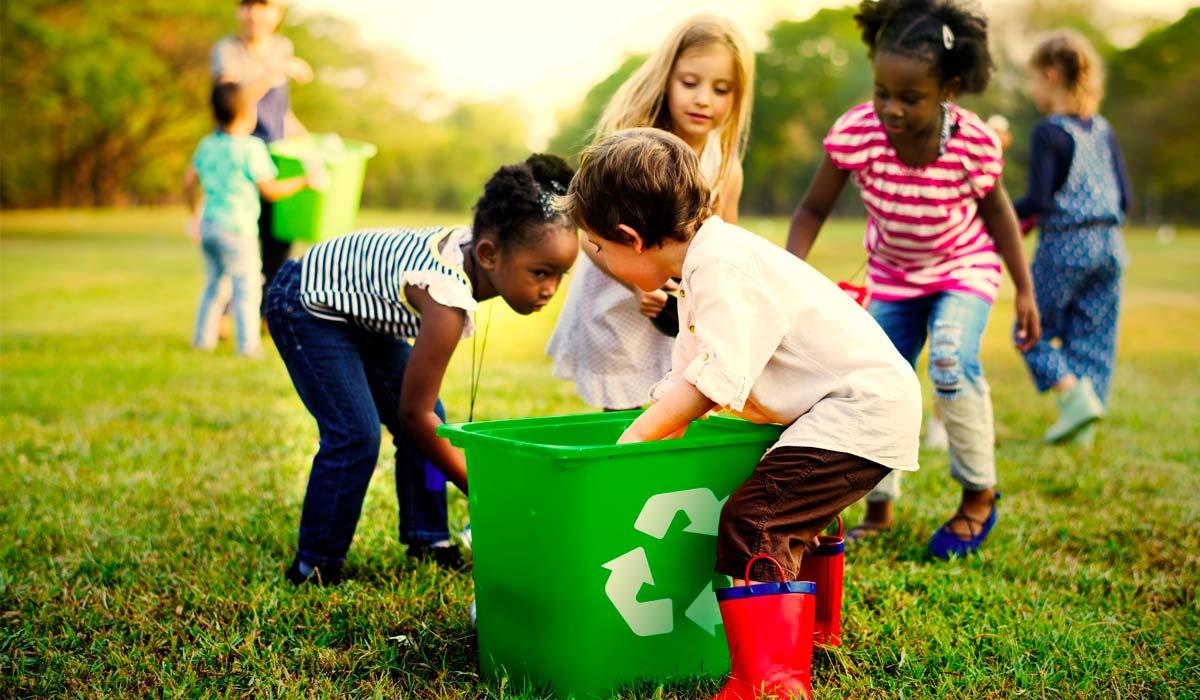 reciclaje desde pequeños
