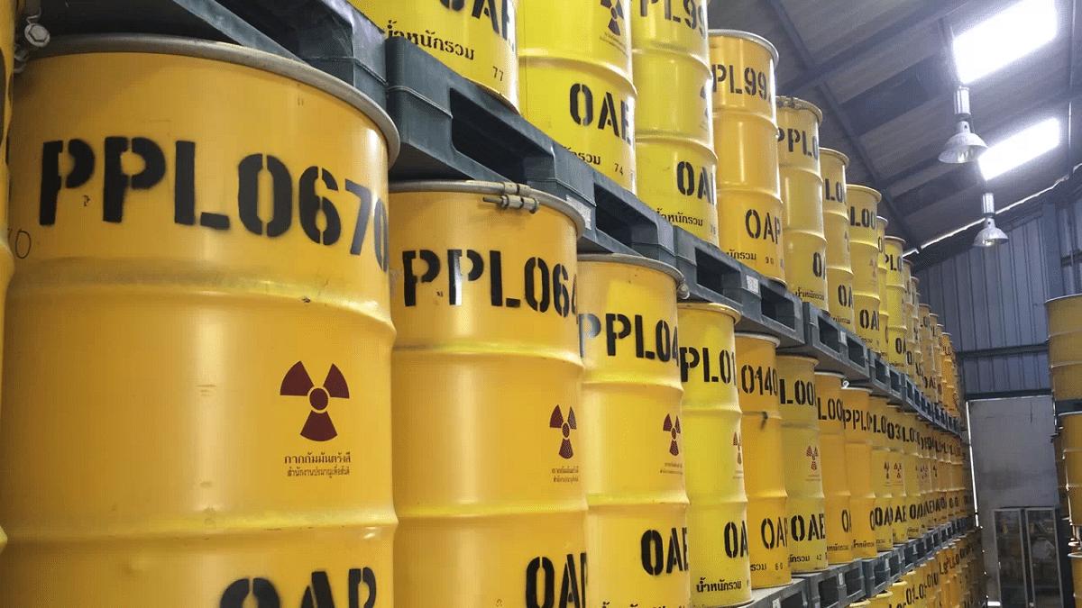 desechos nucleares