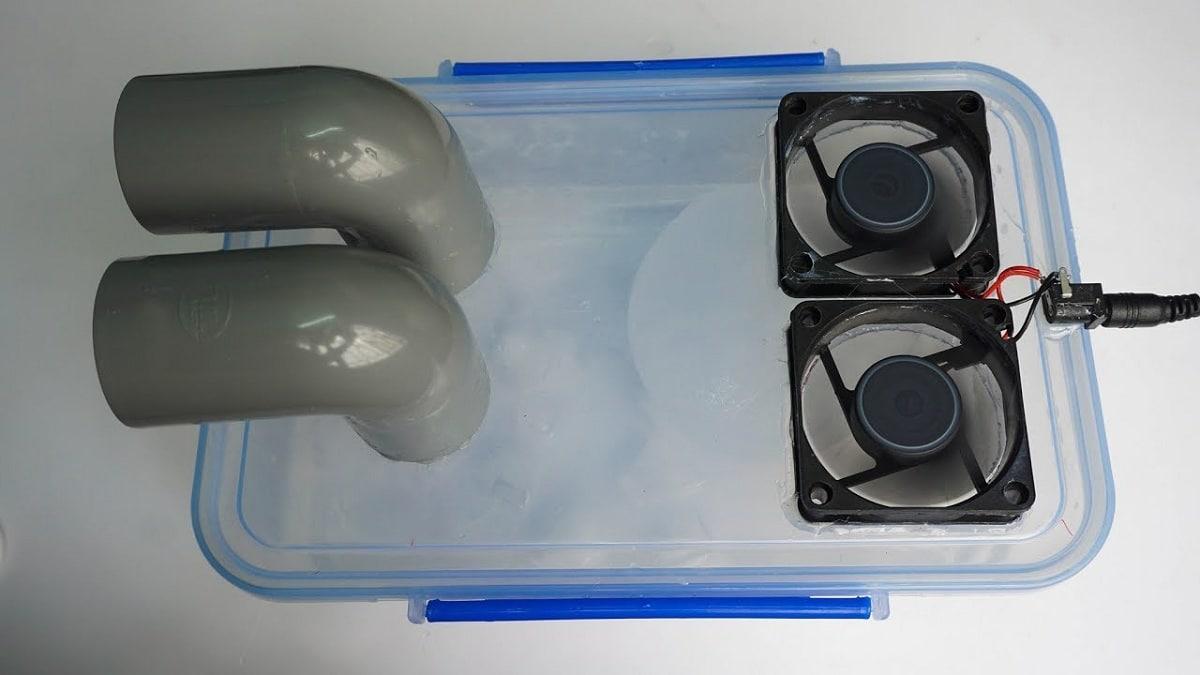 hielo para refrigerar