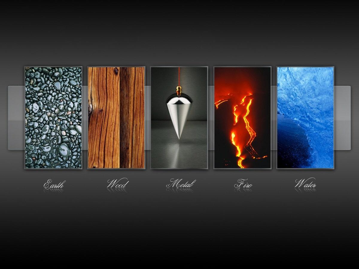 los 5 elementos de la naturaleza