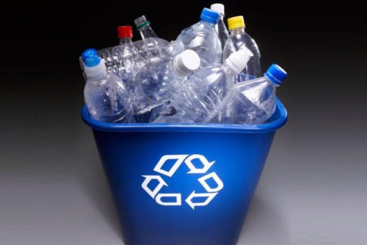 reciclar en papelera