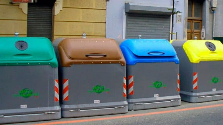 tipos de contenedores de basura