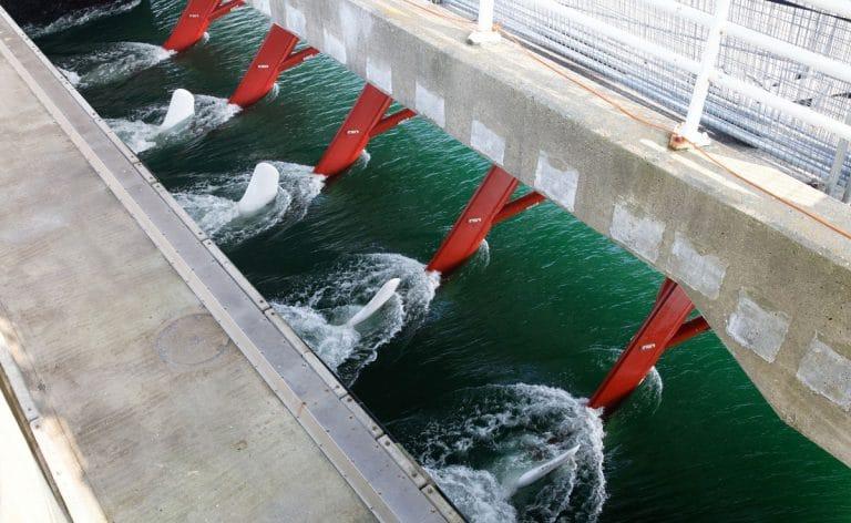 Energia mareomotriz dinamica
