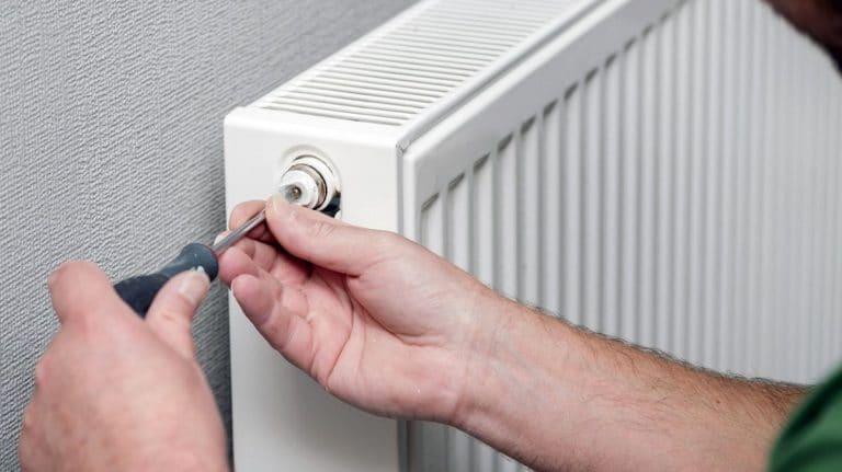 radiador en casa