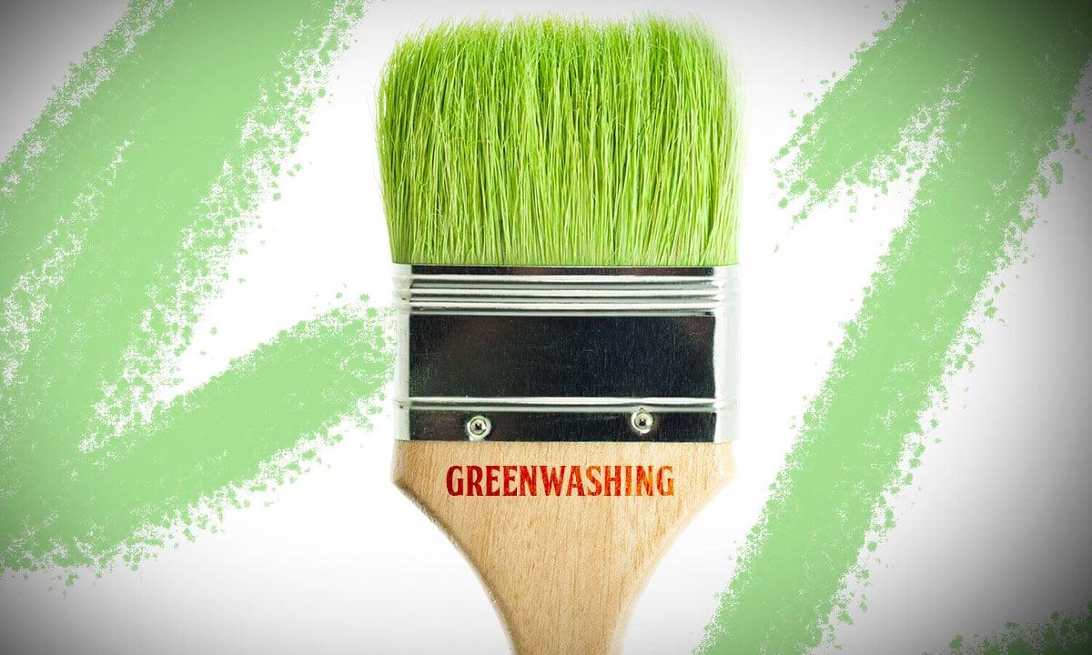 greenwashing para embellecer productos