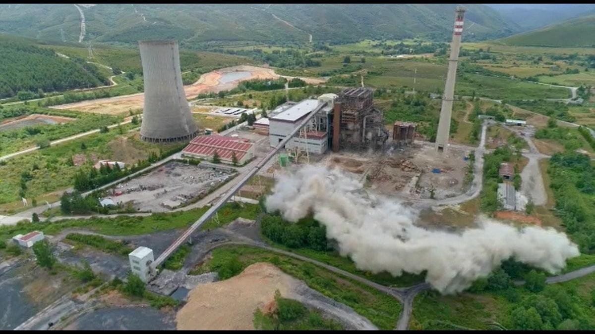 que es una central termica y termoelectrica