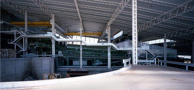 planta de reciclaje instalacion